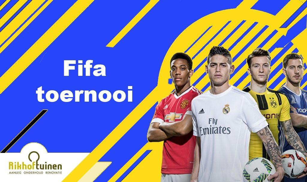 Rikhof Tuinen FIFA toernooi zaterdag 23 juni