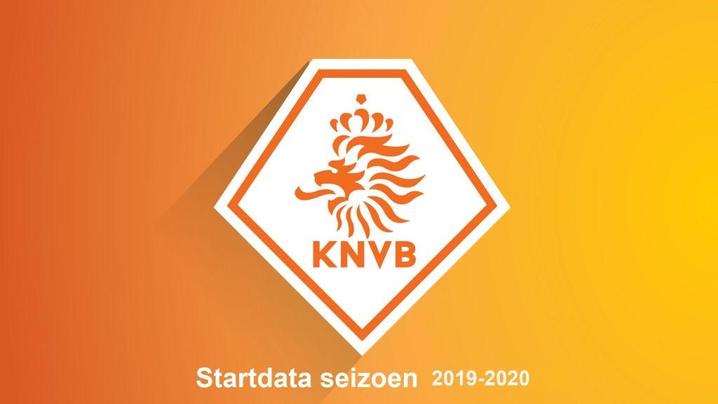Start competitie 2019-2020