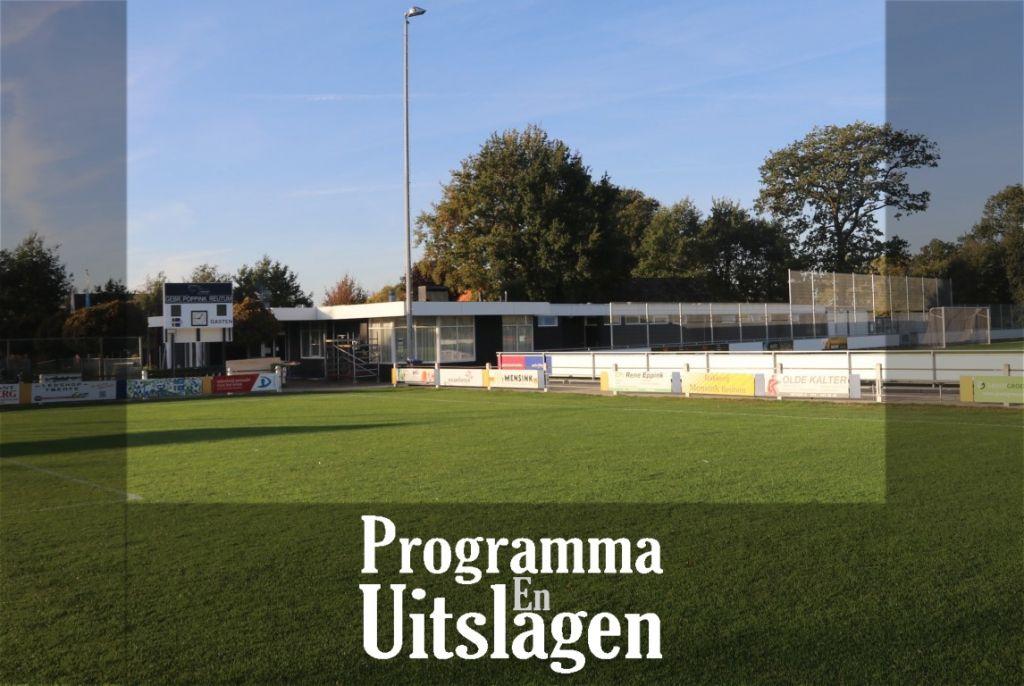 Programma - Uitslagen 20-21 oktober 2018