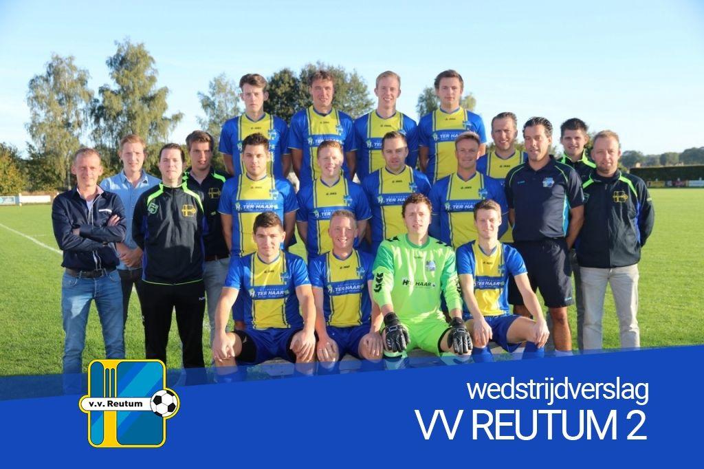 Reutum 2 wint derby tegen Vasse 2