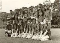 Damesvoetbal 1974 1e kampioen van Nederland