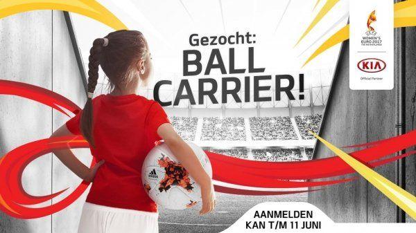 Johnny de Mol helpt Kia met Official Match Ball Carriers zoektocht