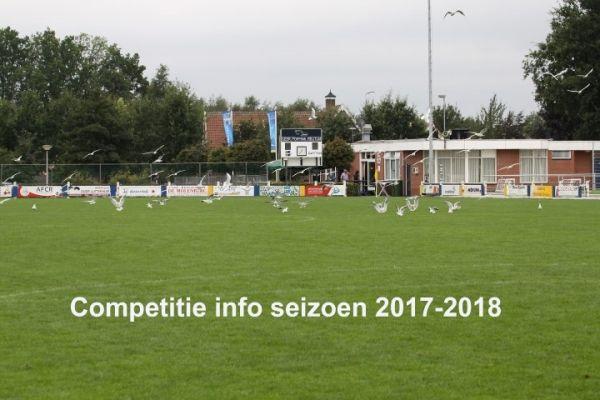 Competitiedata 2017-2018