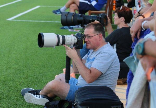 De echte persfotografen