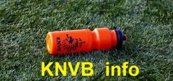 KNVB info over: Geschorst na de 5e kaart, Verplaatsen wedstrijden, Snipperdag ipv baaldag