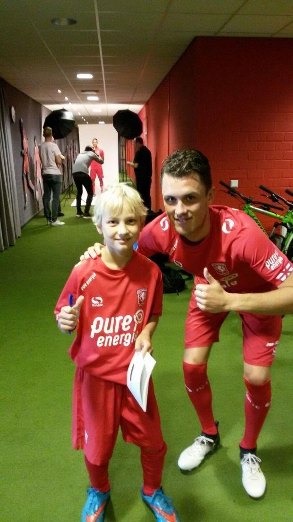 Luuk Morskieft en Fc Twente speler .....