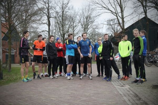 Snertloop 2017 en nieuwjaarspeech voorzitter Hettie Olde Loohuis