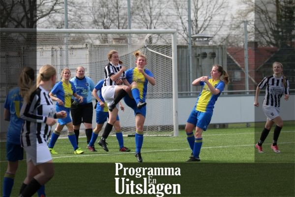 Programma - Uitslagen 19 tm 22 april 2018
