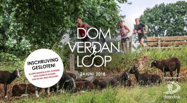 Deelnemers Dom Verdan Loop uit alle windstreken