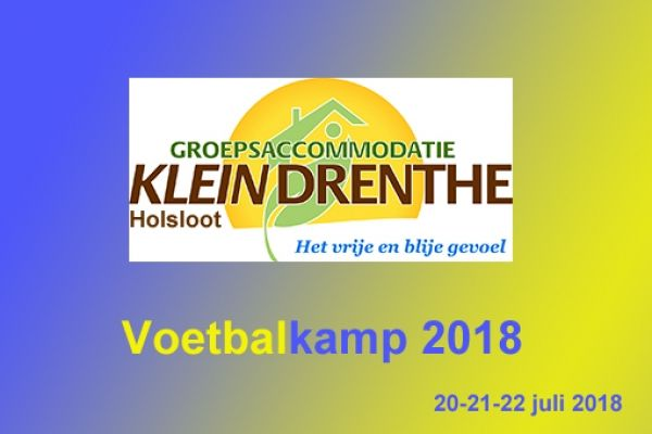 Kampbrief Voetbalkamp 2018