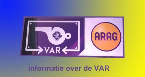 Uitleg over de Video Assistent Referee (VAR) (bron KNVB.nl)
