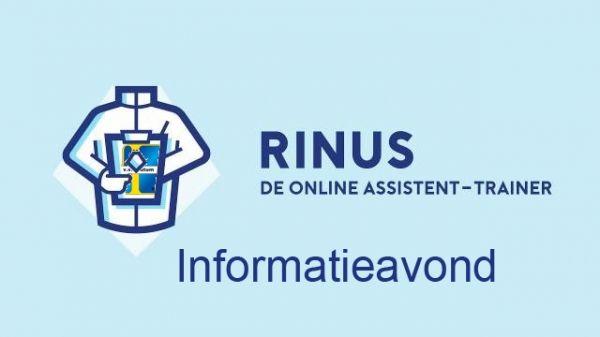 Maandag 1 oktober: informatieavond over de Rinusapp